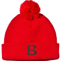 The BRAND Pompom Hat Red Red
