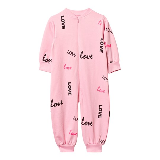 The BRAND Baby One-Piece Pink Love Pink Love