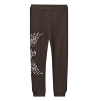The BRAND Baby Waffle Pants Almost Black Black