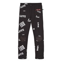 The BRAND Heart Leggings Black Love Black Love