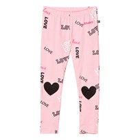 The BRAND Heart Leggings Pink Love Pink Love