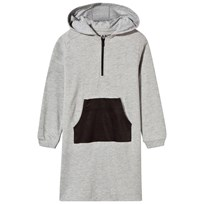 The BRAND Raw Dress Grey Mel Grey Mel