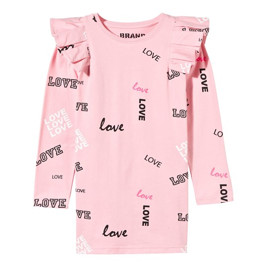 The BRAND Flounce Dress Pink Love Pink Love