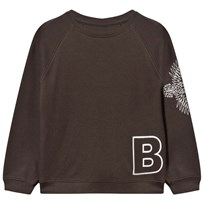 The BRAND Loose Sweat Shirt Black Black
