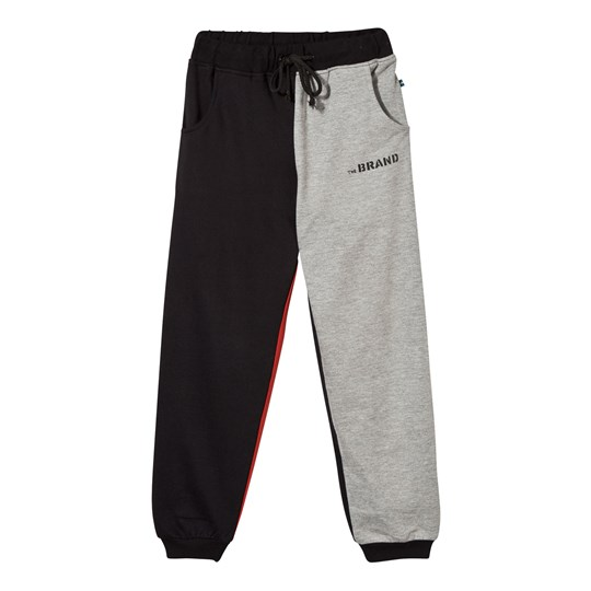 The BRAND Block Sweatpants Black Red Grey Mel Block Red/Grey Mel/Black