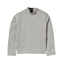 The BRAND Turtle Top Grey Melange Grey Mel