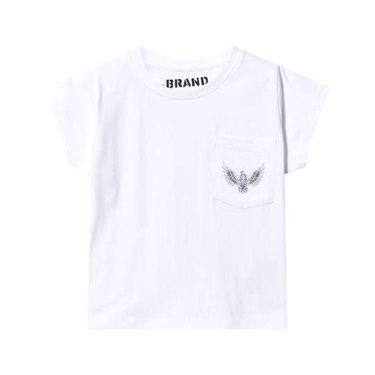 The BRAND Pocket Tee White White