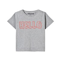 The BRAND Hello Tee Grey Grey Mel