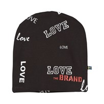 The BRAND Hat Black Love Black Love