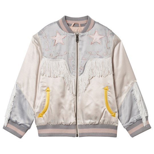 Stella McCartney Kids Cowgirl Bomber Jacket Cloud Cloud