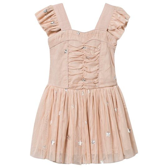 Stella McCartney Kids Jo Jo Stars Dress Peony Twinkle Peony Twinkle Pr
