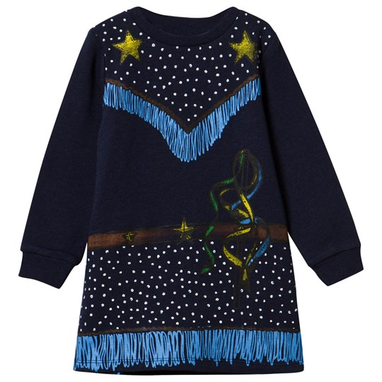 Stella McCartney Kids Midnight Savannah Dress Midnight Mel