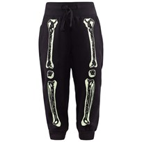 Stella McCartney Kids Zachary Skeleton Sweat Pants Black Black