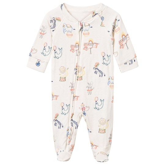 Stella McCartney Kids Bitsy Circus Footed Baby Body Baby Circus Pr
