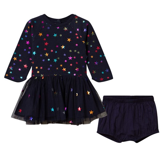 Stella McCartney Kids Midnight India Dress Midnight Mel