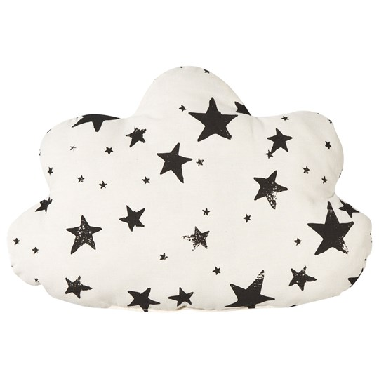 Noe & Zoe Berlin Little Cloud Pillow Black Stars & Stripes black stars & stripes