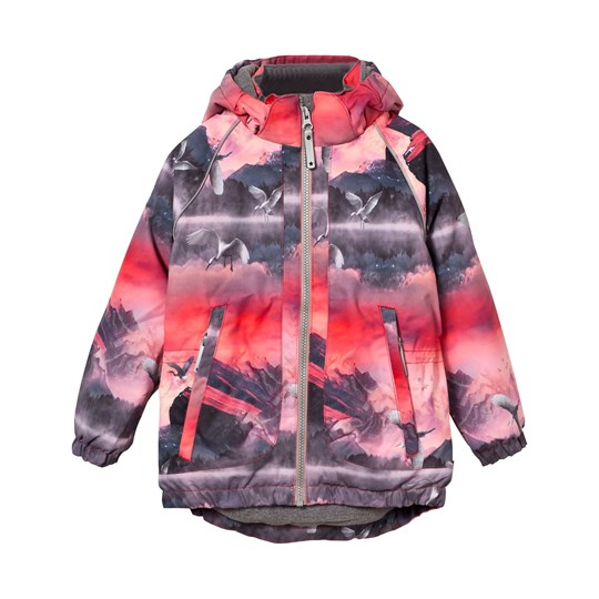 Molo Cathy Jacket Pink Mountains Pink Mountains