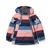 Molo Hopla Jacket Girly Rainbow Girly rainbow