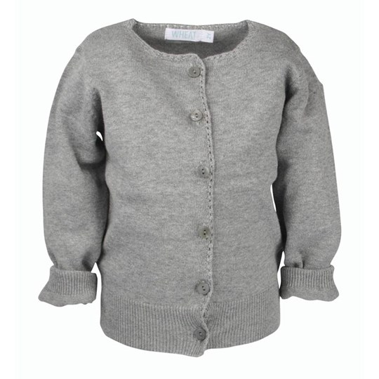 Wheat Cardigan Knit Grey Grey