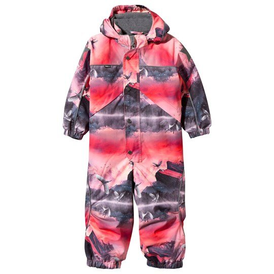 baf8aa5c045f Molo - Polaris Snowsuit Pink Mountains - Babyshop.com