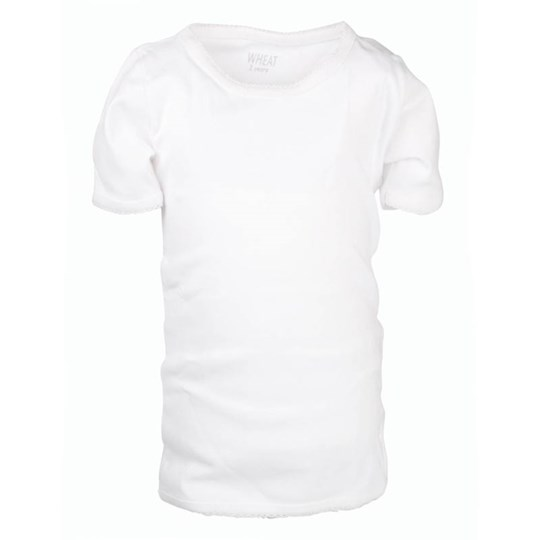 Wheat Basic Girly T-shirt White White