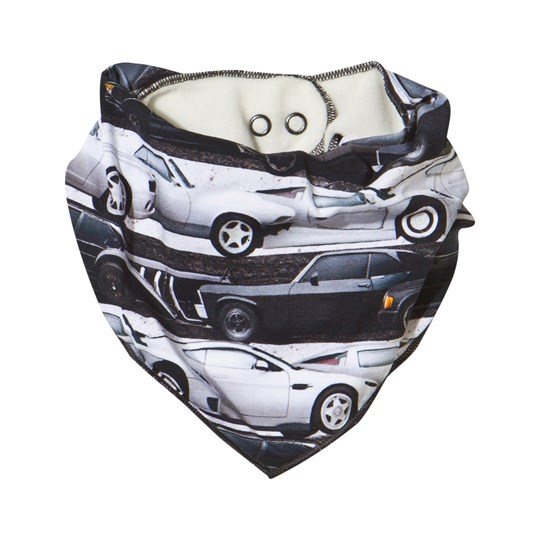 Molo Nick Car Stripe Bib Car Stripe