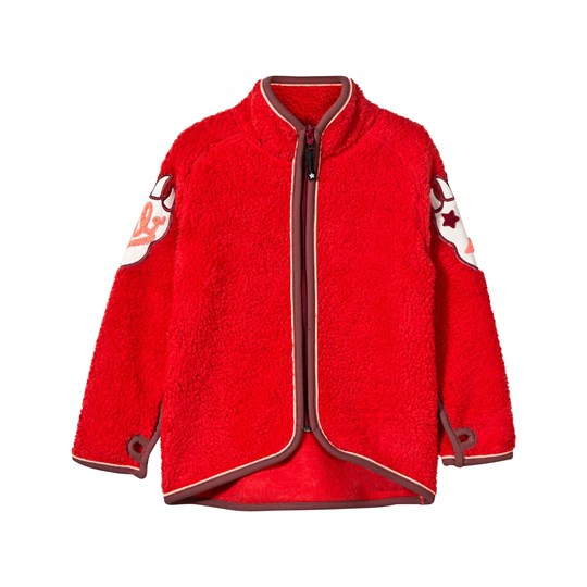 Molo Ulan Fleece Jacket True Red True Red