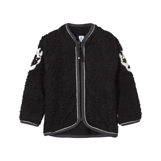 Molo Urvan Fleece Jacket Black Black