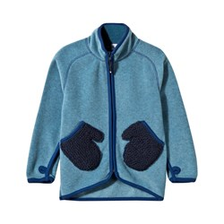 Molo Ushi Fleece Jacket Scifi Blue