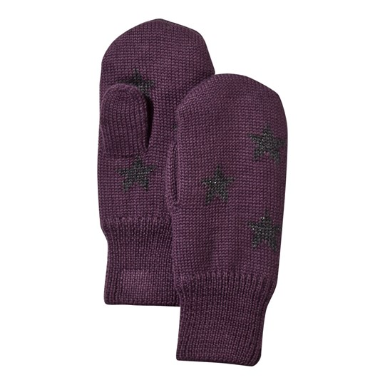 Molo Snowfall Mittens Plum Perfect Plum Perfect