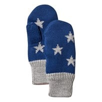Molo Snowfall Mittens Estate Blue Estate Blue