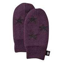 Molo Snowflake Mittens Plum Perfect Plum Perfect