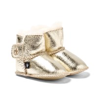 Molo Dust Baby Shoes Gold Gull