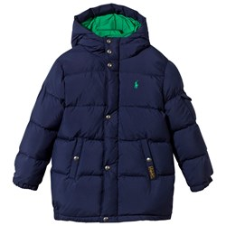 Ralph Lauren Quilted Down Jacket French Navy