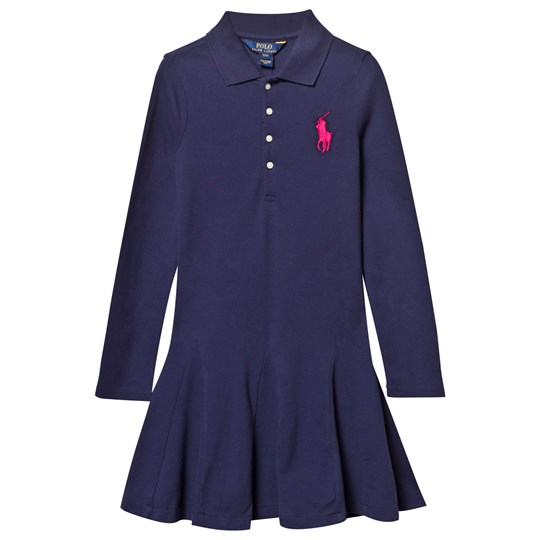 Ralph Lauren Big Polo Dress Newport Navy Newport Navy