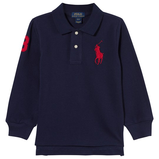 Ralph Lauren Long Sleeve Big Pony Polo French Navy French Navy