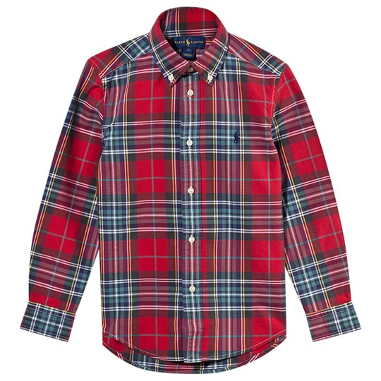 Ralph Lauren Tartan Shirt Red/green Multi Red/green Multi