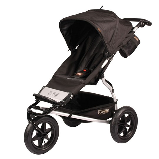 Mountain Buggy Single Buggy Black Multi
