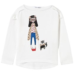 The Marc Jacobs Long Sleeve T-shirt Off White
