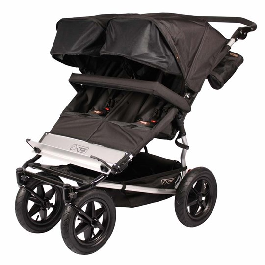 Mountain Buggy Urban Jungle Duo Buggy Black Multi