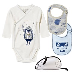 The Marc Jacobs Body & 2 Bibs Off White
