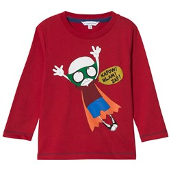 The Marc Jacobs Long Sleeve T-shirt Superhero