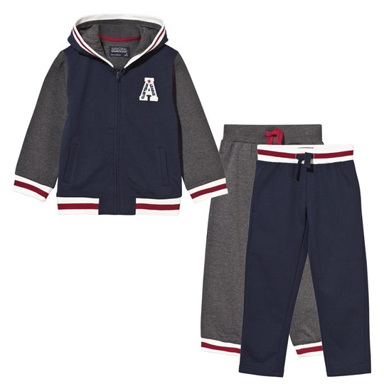 Mayoral Pack of 3 Tracksuit Navy/Grey Navy