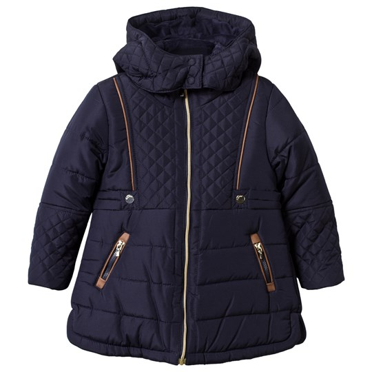 Mayoral Quilted Jacket Navy Navy
