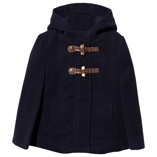 Mayoral Navy Cape Coat Navy