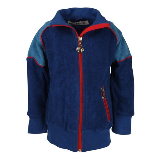 Kik Kid Jacket Terry Blue Blue