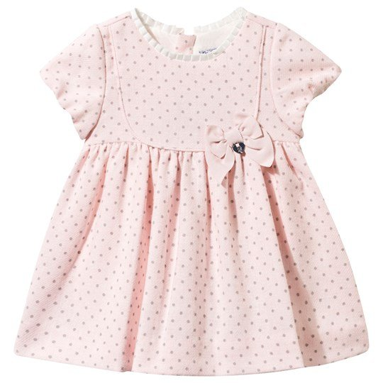 Mayoral Spot Dress Pink Pink