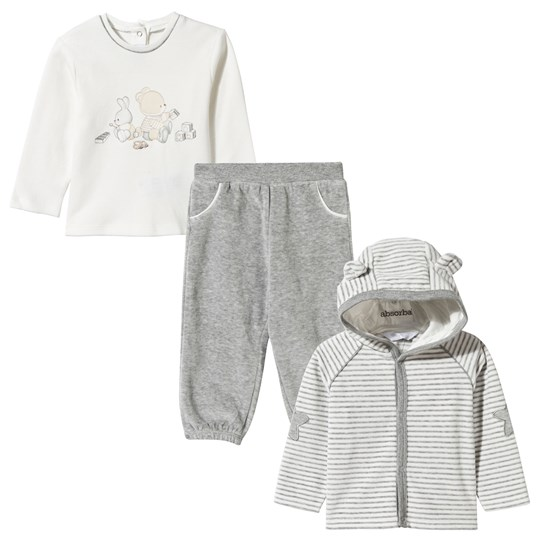 Mayoral 3 Piece Set Grey Teddy Sort