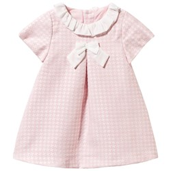 Mayoral The Houndstooth Dress Pink