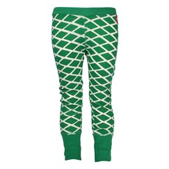 Leggings White Green